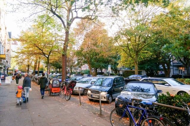 Die Eppendorfer Landstraße